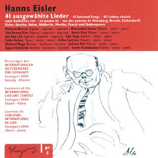 Hanns Eisler | quarante-et-un Lieder choisis