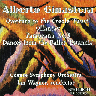 Alberto Ginastera | œuvres pour orchestre