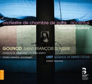 Retrouvons Laurence Equilbey dans des œuvres sacrées de Gounod et Liszt