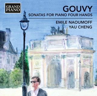Les pianistes Émile Naoumoff et Yau Cheng jouent trois sonates de Gouvy