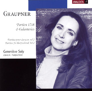 Christoph Graupner | pièces pour clavecin
