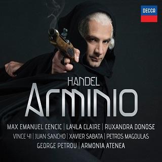 George Petrou joue Arminio (1737), un opéra signé Händel