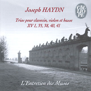 Joseph Haydn | trios pour clavecin, violon et violoncelle