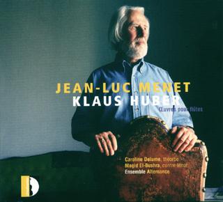 Jean-Luc Menet dans des pièces avec flûte de Klaus Huber