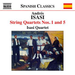 Le Quatuor Isasi joue les quatuors n°1 et N°5 d'Andrés Isasi y Linares
