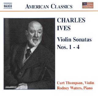 Charles Ives | sonates pour violon et piano n°1 à n°4