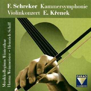 Křenek – Schreker | œuvres pour orchestre