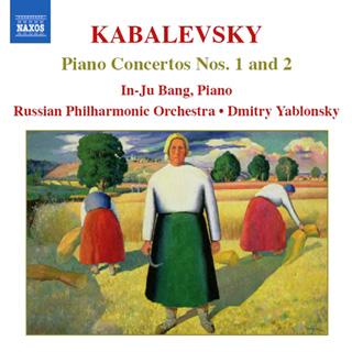 Dmitri Kabalevski | Concerti  pour piano n°1 – n°2