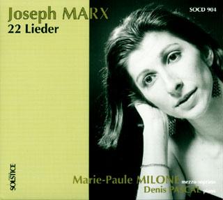 Joseph Marx | Lieder