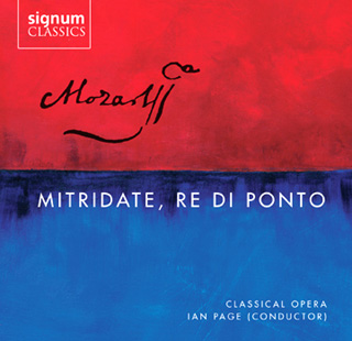 Ian Page joue Mitridate, re di Ponto (1770), opéra de jeunesse de Mozart