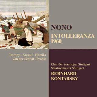 Bernhard Kontarsky joue Intolleranza 1960, l'action scénique de Luigi Nono