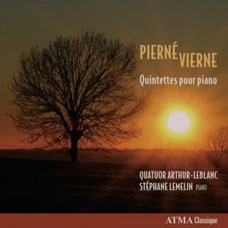 Le Quatuor Arthur-Leblanc et Stéphane Lemelin jouent Pierné et Vierne