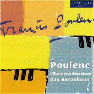 Francis Poulenc | œuvres pour deux pianos