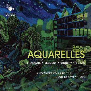 Bozza, Debussy, Françaix et Jane Vignery par Alexandre Collard et Nicolas Royez