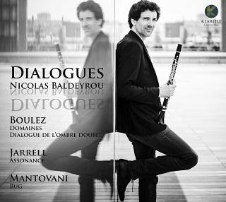 Le clarinettiste Nicolas Baldeyrou joue Boulez, Jarrell et Mantovani