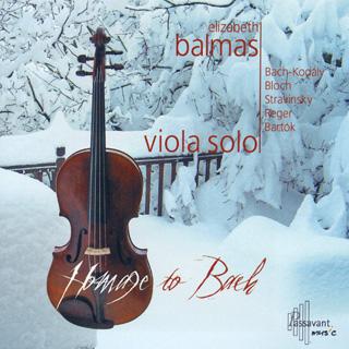 récital Elizabeth Balmas (alto) : Bach – Bartók – Bloch – Reger – Stravinsky