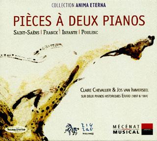 récital Claire Chevalier et Jos van Immerseel pour deux piano