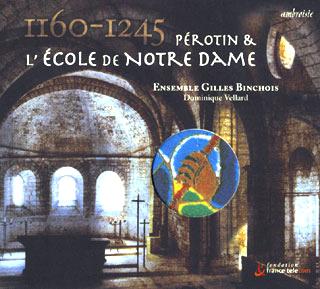récital Ensemble Gilles Binchois | Pérotin et l'École de Notre Dame