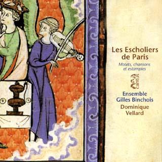 Ensemble Gilles Binchois | motets, chansons et estampies du XIIIe siècle