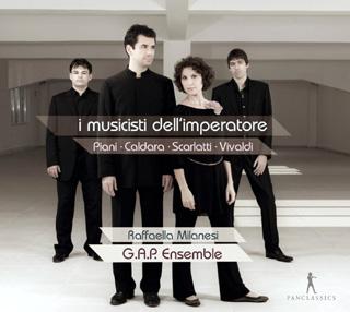 Avec l'Ensemble G.A.P., Raffaela Milanesi chante Caldara, Scarlatti et Vivaldi