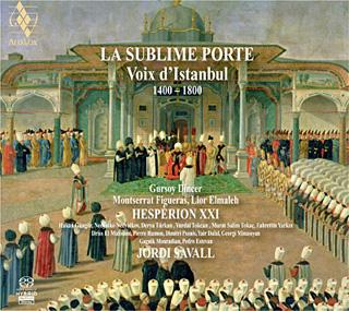 voix d'Istanbul (1430-1750) par Hespèrion XXI