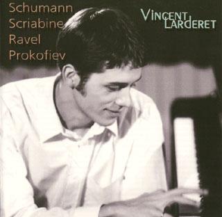 récital Vincent Larderet | Prokofiev – Ravel – Schumann – Scriabine