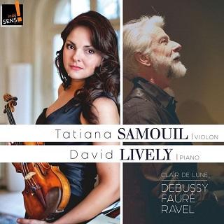 David Lively accompagne Tatiana Samouil dans un programme français
