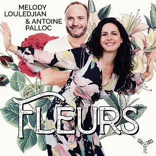 Melody Louledjian chante les fleurs, accompagnée par Antoine Palloc