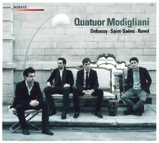 Le Quatuor Modigliani joue les Français : Debussy, Ravel et Saint-Saëns