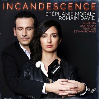 La violoniste Stéphanie Moraly et le pianiste Romain David