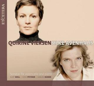 récital Avenhaus (piano) et Viersen (violoncelle)