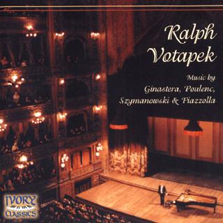 récital Ralph Votapek | Ginastera – Piazzolla – Poulenc – Szymanowski