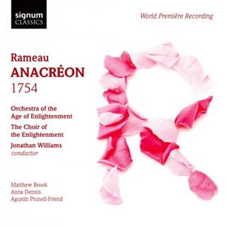 Jonathan Williams joue Anacréon (1754), acte de ballet de Rameau