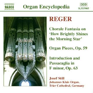 Max Reger | œuvres pour orgue