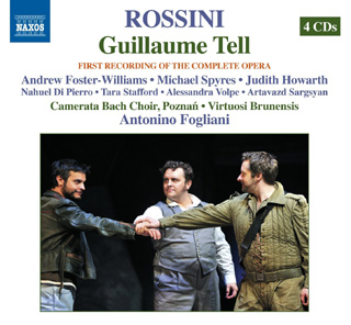 Antonino Fogliani joue Guillaume Tell, l'opéra de Gioachino Rossini
