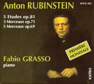 Anton Rubinstein | pièces pour piano