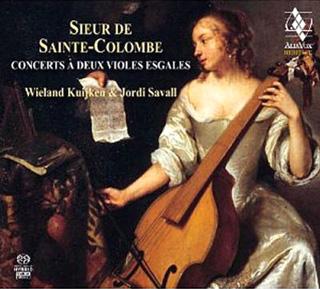 Concerts à deux violes esgales de Sainte-Colombe, par Kuijken et Savall