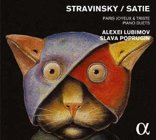 Alexeï Lioubimov et Slava Poprouguine jouent Satie et Stravinsky au piano