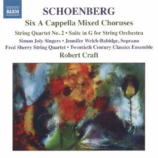 Arnold Schönberg | Six chœurs mixtes a cappella – etc.