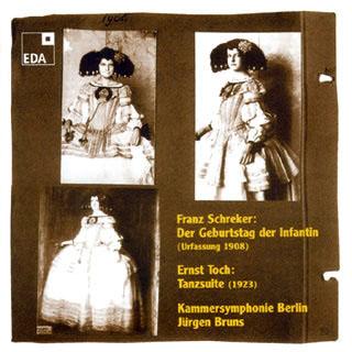 Schreker – Toch | œuvres pour orchestre