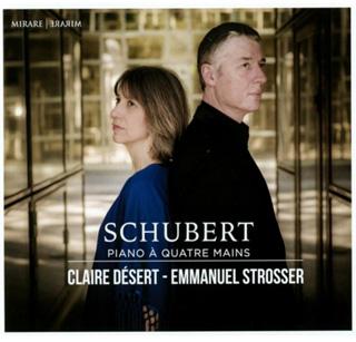 Claire Désert et Emmanuel Strosser jouent Schubert à quatre mains