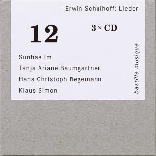 Trois CD donnent à entendre tous les Lieder de Schulhoff (Ervín Šulhov)
