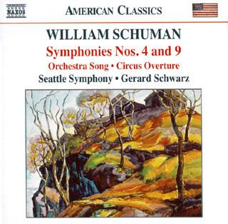 William Schuman | œuvres pour orchestre