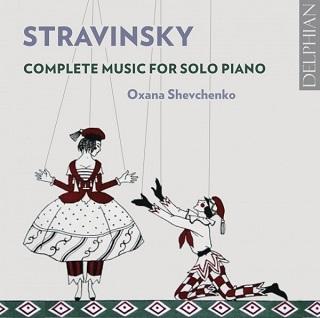 Oxana Shevchenko joue l'intégrale des pièces pour piano de Stravinsky
