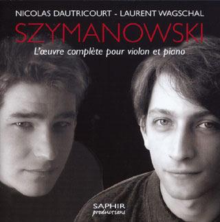 Karol Szymanowski | intégrale pour violon et piano