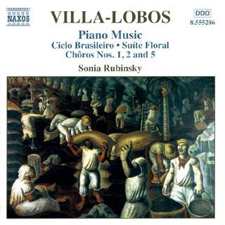 Heitor Villa-Lobos   œuvres pour piano (vol.3)