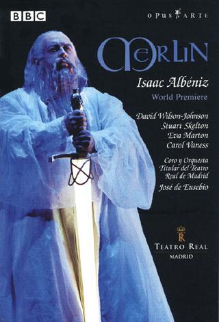 John Dew met en scène l'opéra Merlin d'Albéniz au Real de Madrid, en 2003