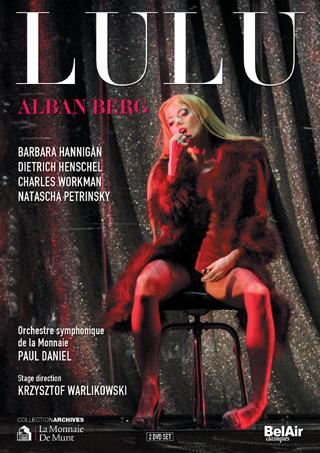 Lulu de Berg, filmé à La Monnaie de Bruxelles ; mise en scène de Warlikowski