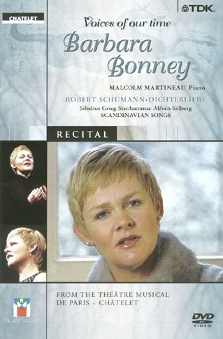 un récital donné par Barbara Bonney au Théâtre du Châtelet en 2001
