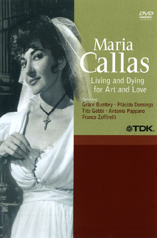 un portrait de Maria Callas